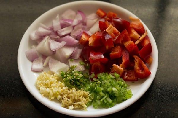 dry paneer manchurian ingredients