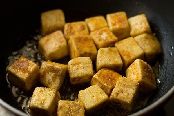 paneer manchurian dry recipe, how to make dry paneer ...