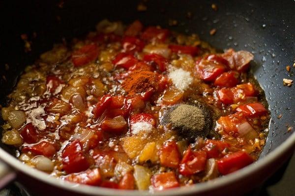 salt for dry paneer manchurian recipe