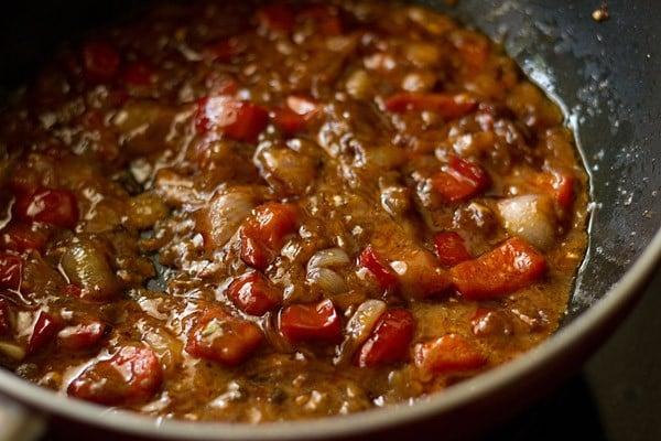 making dry paneer manchurian recipe