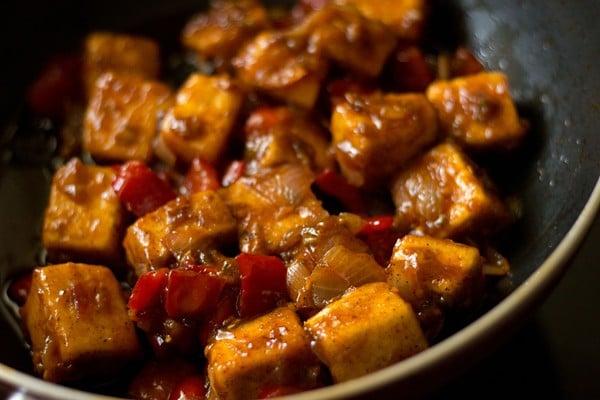 making paneer manchurian dry recipe