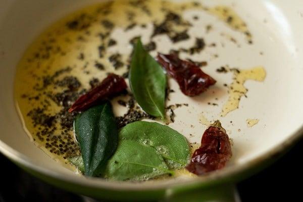 tempering for tomato chutney recipe