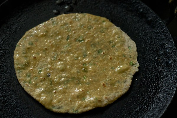 frying parathas - vegetable paratha recipe