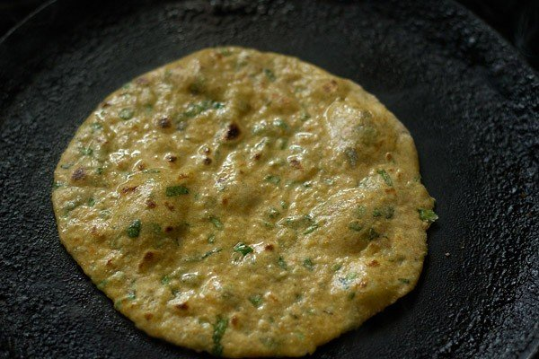 ghee to prepare vegetable paratha recipe