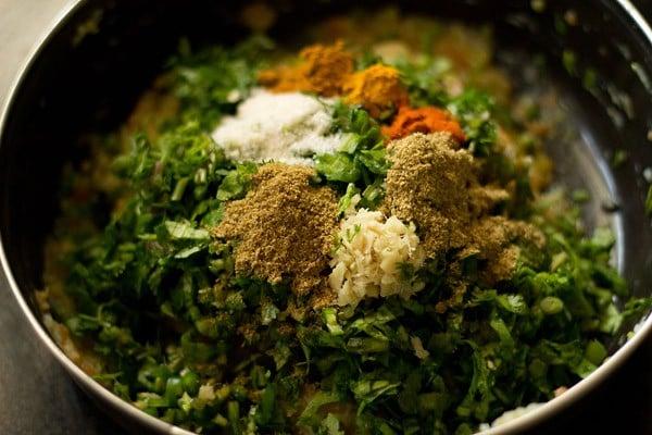 dough for making veg paratha recipe