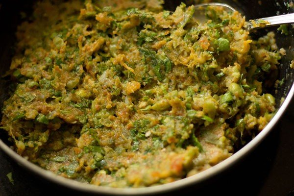 dough for veg paratha recipe
