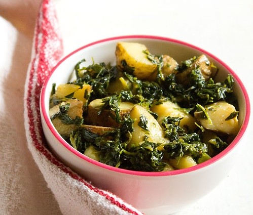 Methi recipes indian fenugreek recipes 21 methi leaves for Recipes with minimal ingredients
