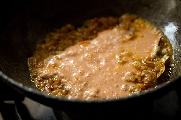 paste for bhindi masala gravy recipe