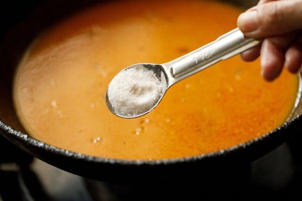 salt for bhindi masala gravy recipe