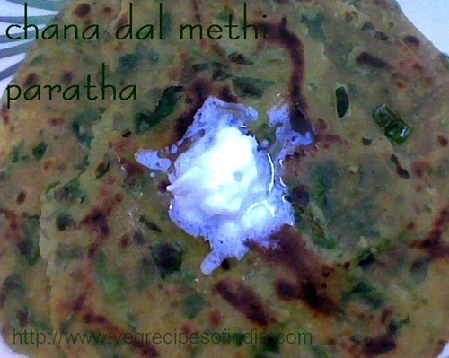 dal methi paratha recipe