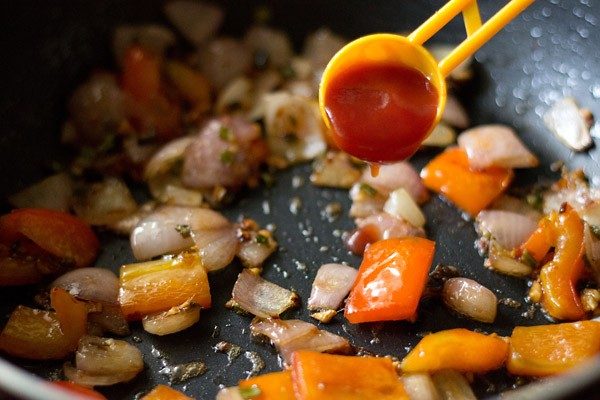 tomato ketchup for mushroom manchurian recipe