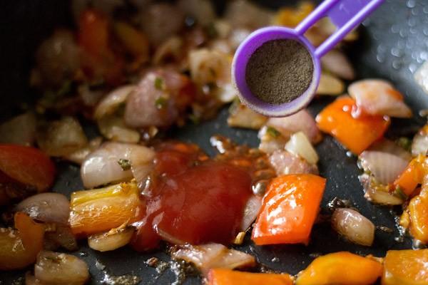 black pepper for mushroom manchurian recipe