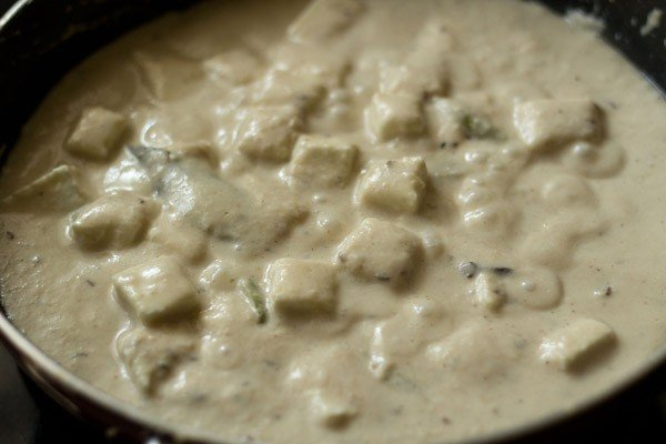 simmer curry - paneer korma recipe