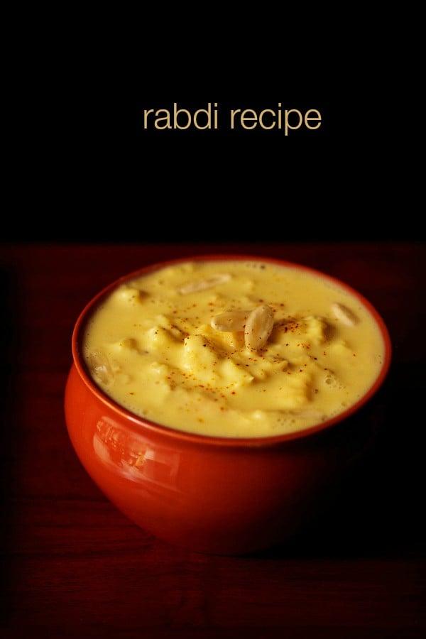 rabdi recipe rabri recipe