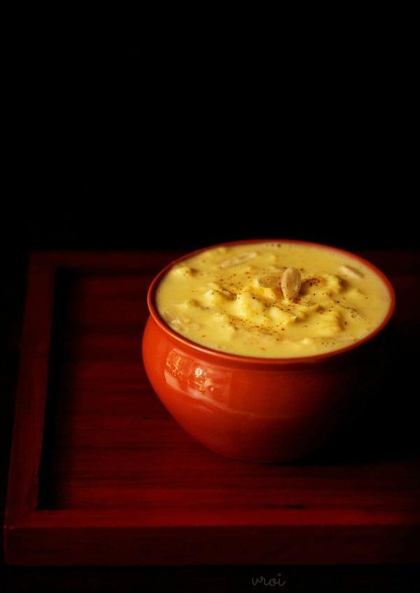 rabdi recipe traditional