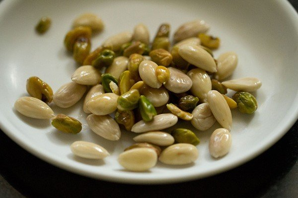 almonds for rabdi recipe