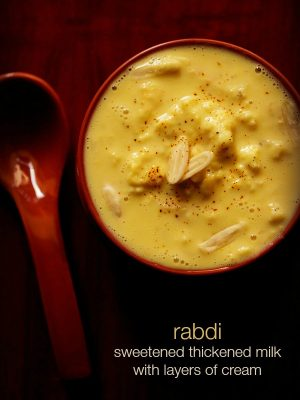 rabri recipe, how to make rabri | rabdi recipe