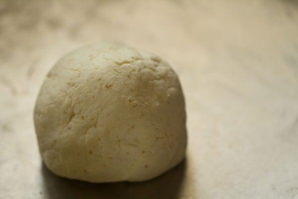 kneading chenna for rasgulla recipe