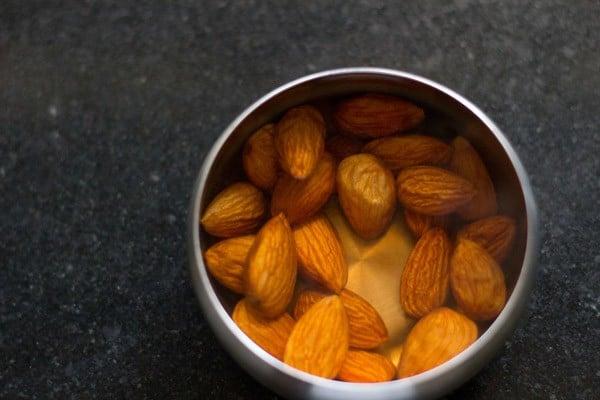 almonds for rasmalai recipe
