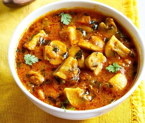 Methi recipes indian fenugreek recipes 21 methi leaves recipes methi mushroom recipe forumfinder Images