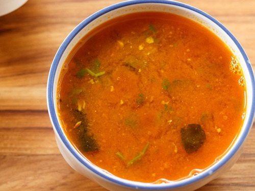 quick tomato rasam recipe