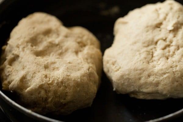 dough for making whole wheat veg pizza recipe