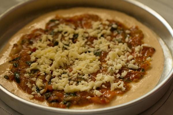 cheese for veg atta pizza recipe
