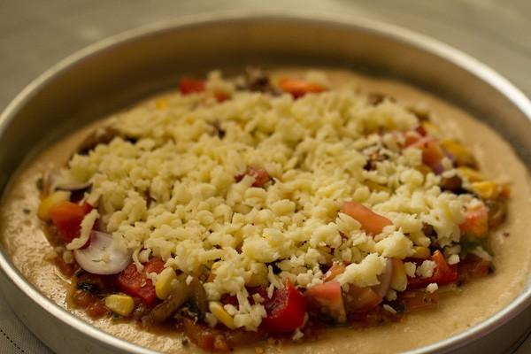 cheese for veggie atta pizza recipe
