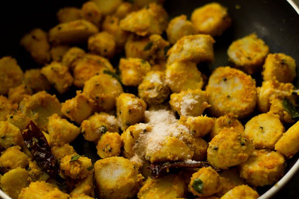 salt for arbi roast recipe