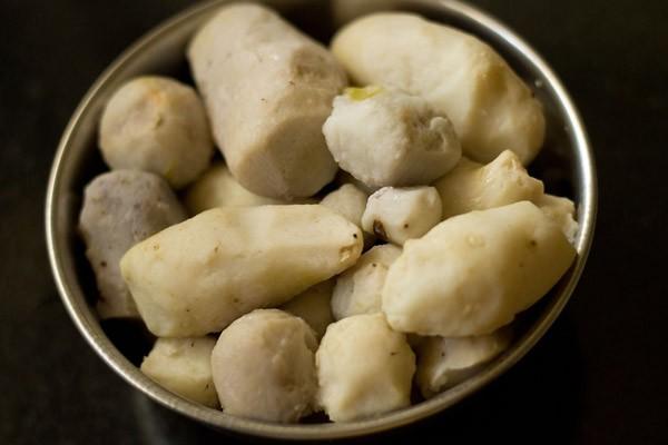 peeled arbi for arbi roast recipe
