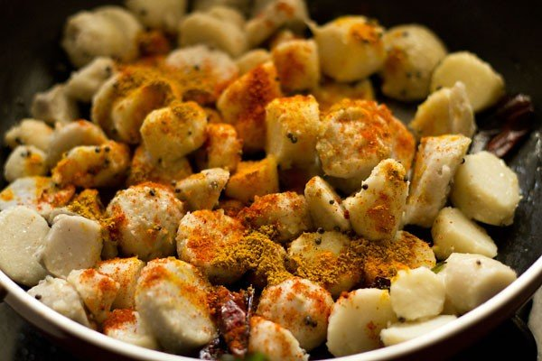 spices for arbi roast recipe