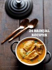 brinjal recipes | 25 indian baingan recipes | brinjal recipes for chapati