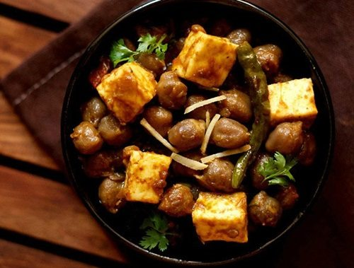 chole paneer masala recipe