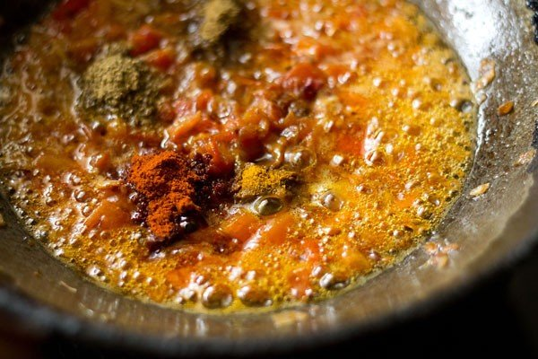 spices for chole paneer recipe
