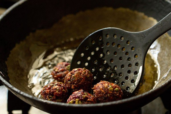 fried vegetable manchurian balls