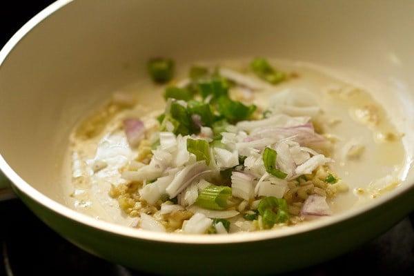 onions for veg manchurian recipe