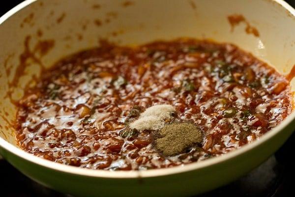 salt for veg manchurian dry recipe