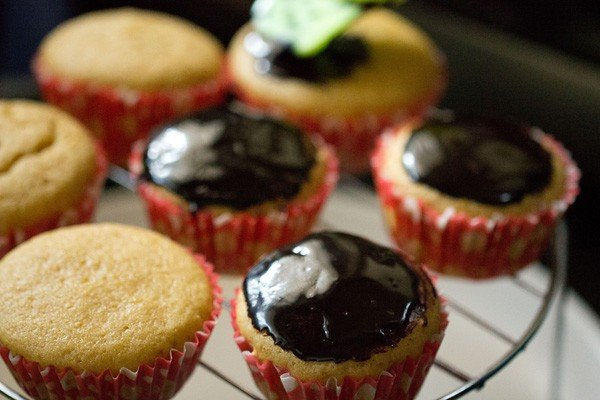 chocolate icing for orange muffin recipe