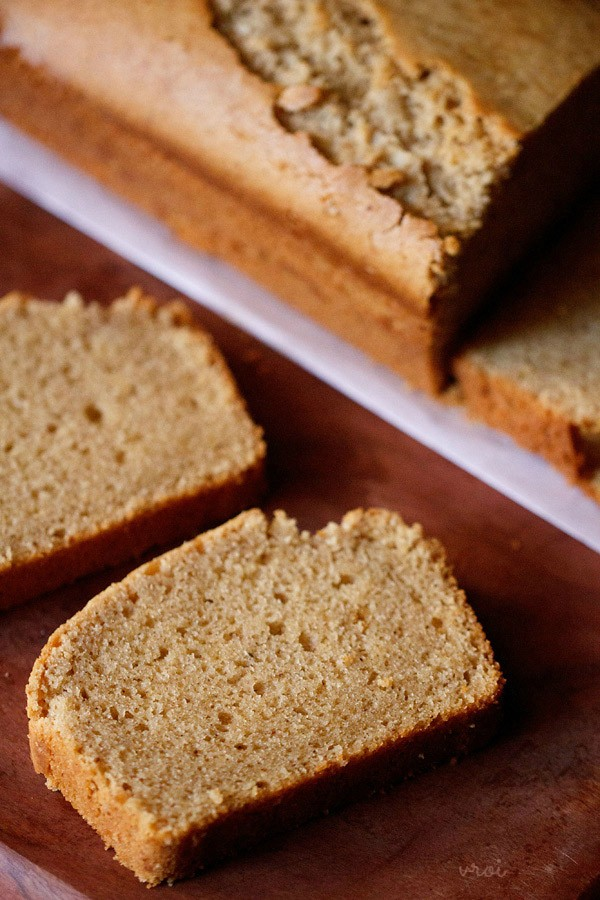 Eggless Microwave Whole Wheat Cake