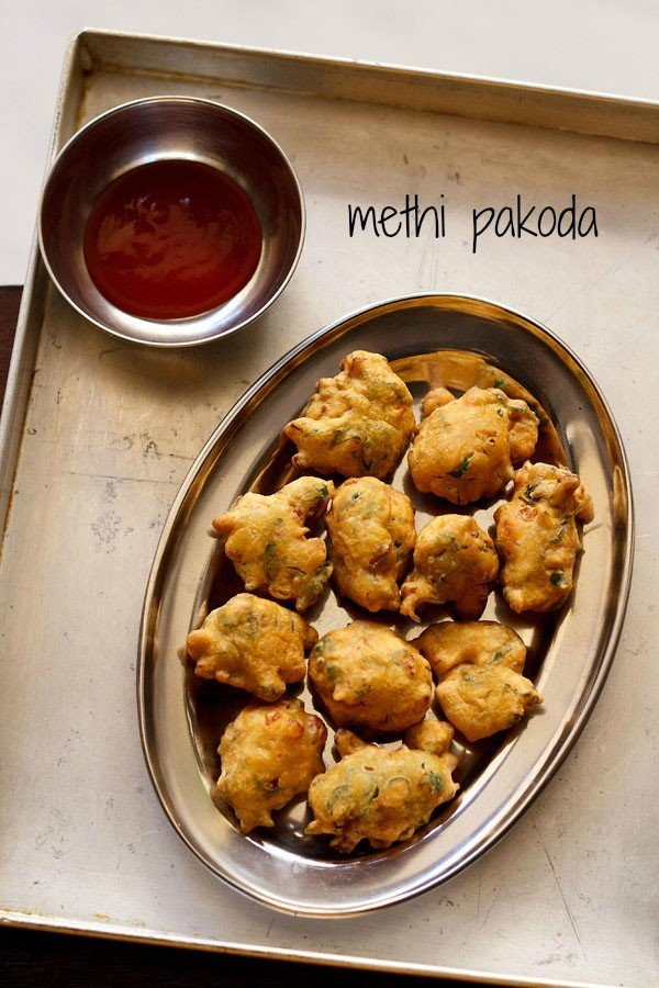 methi pakoda recipe