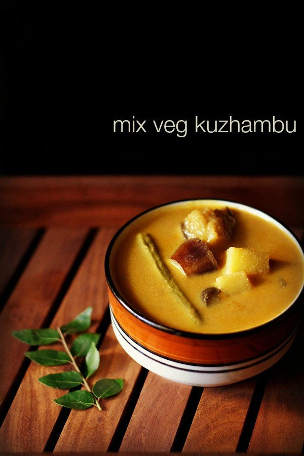 mix veg kuzhambu recipe