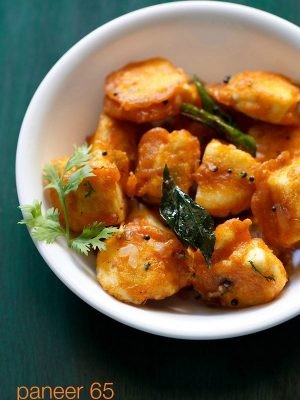 paneer 65 recipe, how to make paneer 65