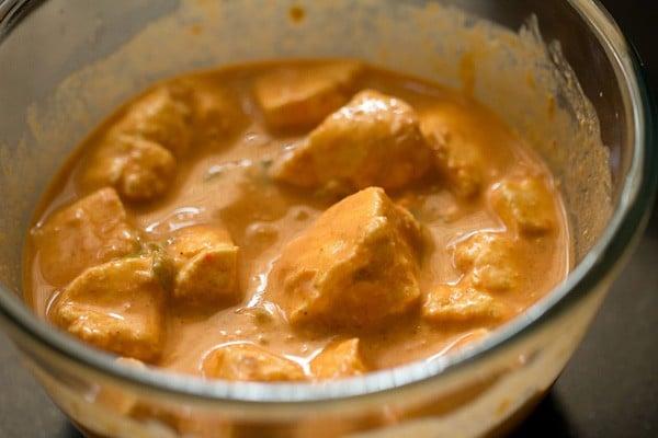 marinating paneer for paneer 65 recipe
