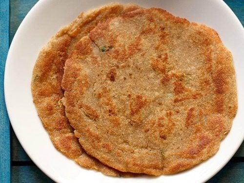 rajgira paratha recipe