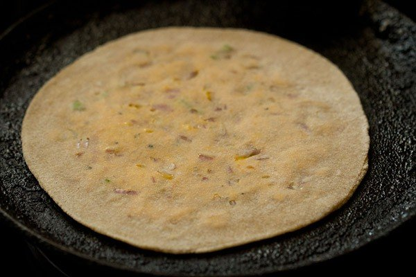 making cheese paratha recipe