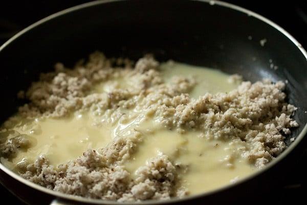 condensed milk for coconut ladoo recipe