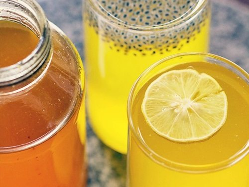 homemade lemon squash recipe