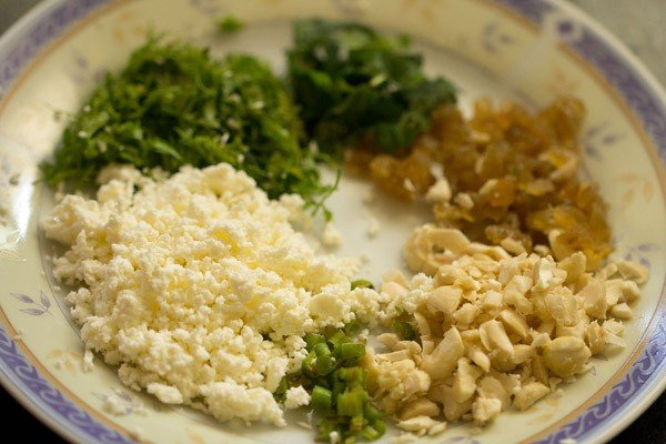 paneer mixture for paneer pasanda recipe