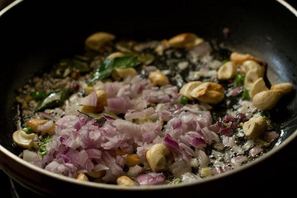 onions for rice sevian upma recipe