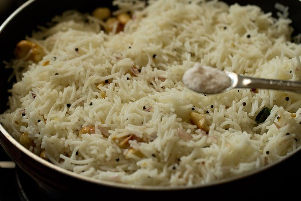 salt for rice sevian upma recipe